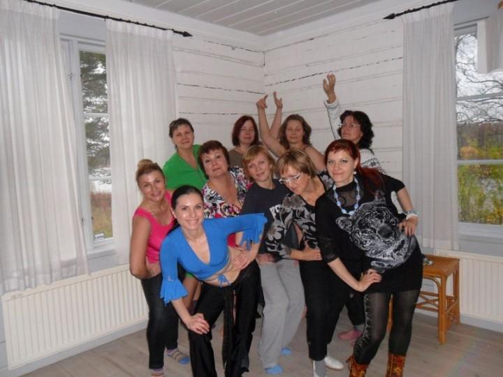 Miladys hälsodag på Andholmen