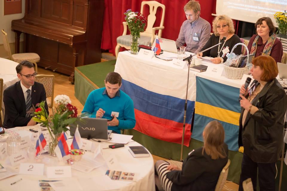 social ryska stor i Stockholm