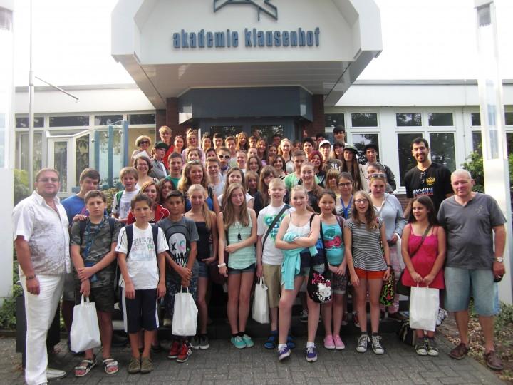 Лагерь « Молодая Европа 2013»