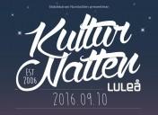 10 september Välkommen till Kulturnatten i Luleå!