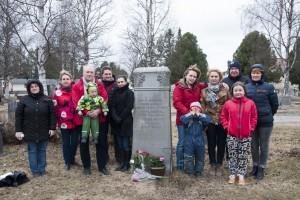 Спутник праздновал День победы.